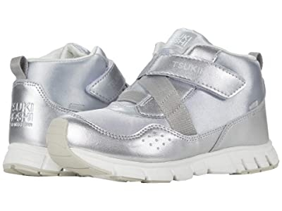 Tsukihoshi Kids Tokyo (Little Kid/Big Kid) (Silver/Silver) Girls Shoes