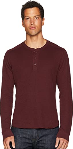 Double Knit Long Sleeve Henley