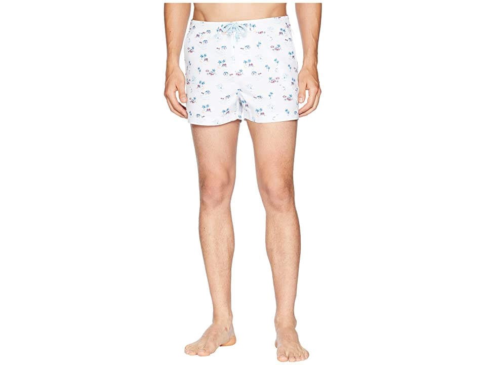 Original Penguin Tropical Theme Fixed (Bright White) Men