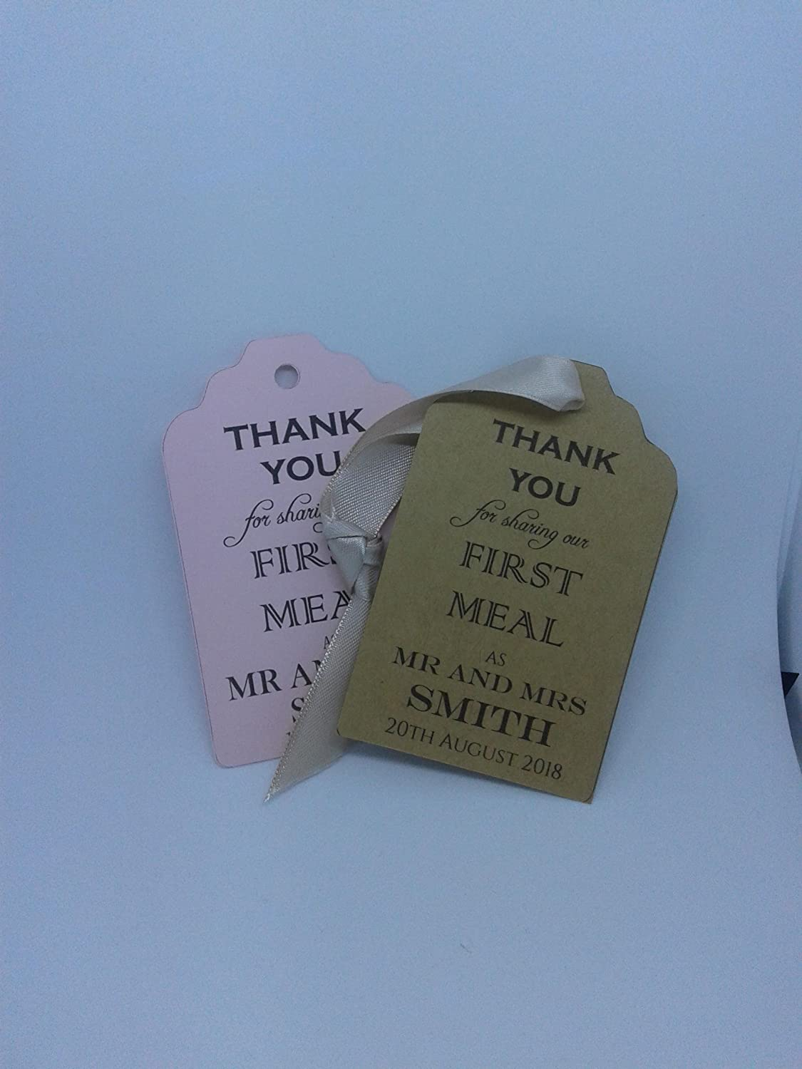CUSTOM GIFT TAGS Louisville-Jefferson Latest item County Mall FOR WEDDINGS