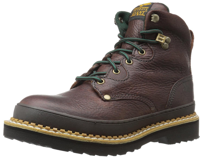 Georgia Boot Women's G3374 Mid Calf Boot, soggy brown, 5