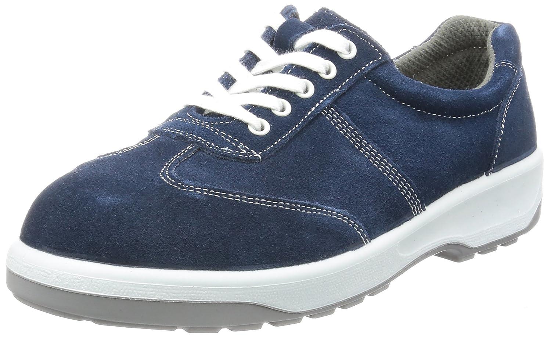 [エンゼル] ポリウレタン2層底安全靴 スニ-カ-(ヒモ) ベロア AN3051 ANシリーズ メンズ