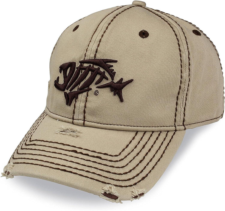 Loomis G AFlex Distressed Cap, Khaki, S M