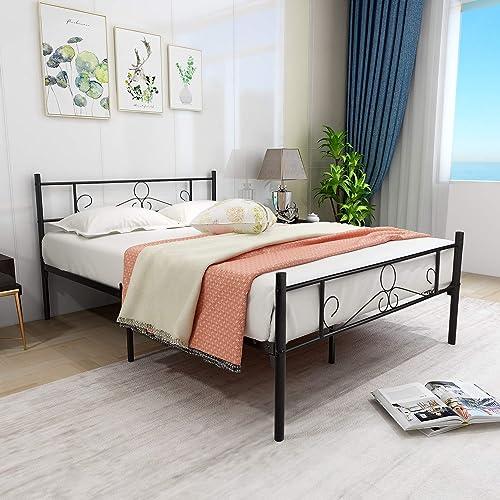 HOMERECOMMEND Metal Bed Frame