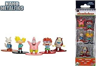 Jada Nano Metalfigs 30415 Nickelodeon Wave 1 Metals Die-Cast Collectible Toy Figures (5 Piece), 1.65
