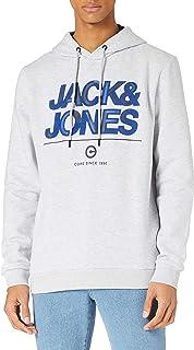 Jack & Jones Jcoberg Sweat Hood Sudadera con Capucha para Hombre