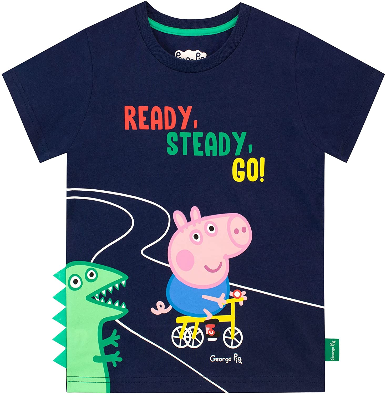 Peppa Pig Boys' George Pig T-Shirt