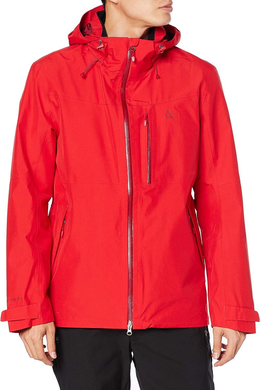Schöffel Jacket Padon M Chaqueta impermeable y resistente al viento, chaqueta transpirable para exteriores con cremallera. Función Hombre