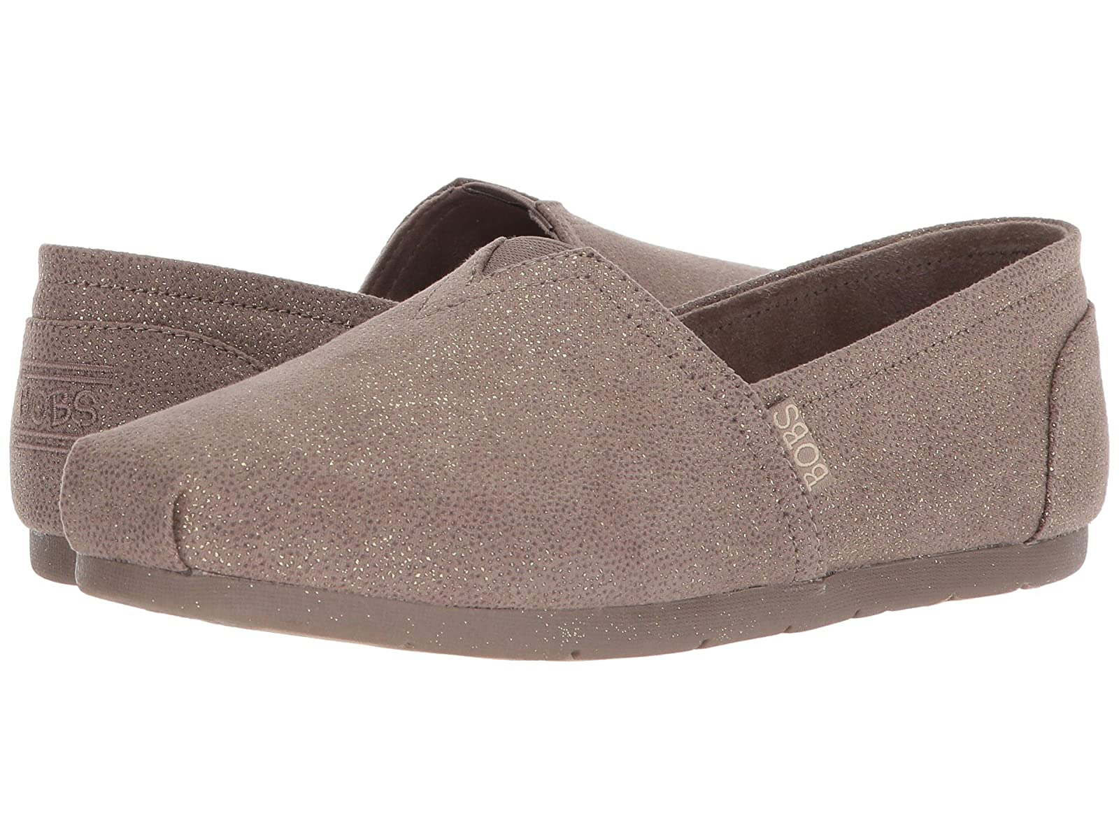 BOBS from SKECHERS Luxe Bobs - Caviar And CandyAtmospheric grades have affordable shoes