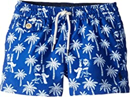 Traveler Polo Bear Swim Trunks (Toddler)