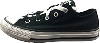 Converse Chuck Taylor All Star Loophole Ox Black/White/Black (Little Kid/Big Kid)