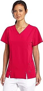 Women's Xtreme Stretch V-Neck Scrubs Shirt