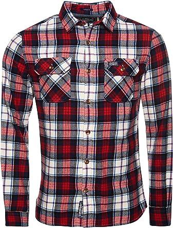 Superdry Classic Lumberjack Shirt Camisa para Hombre