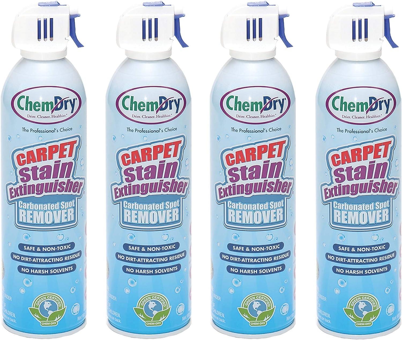 Chem-Dry Carpet Stain Very popular Extinguisher [Alternative dealer] E1198C4 white