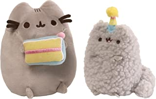 Best GUND Pusheen and Stormy Birthday Plush Stuffed Animals Collector, Gray, Set of 2 Review