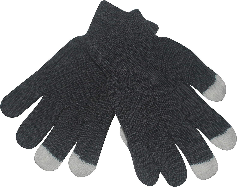 Tennessee526 Unisex Winter Warm Gloves Women Men Winter Soft Warm Texting Capacitive Smartphone Touch Screen Gloves