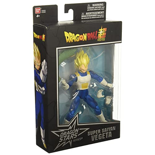 Dragon Ball Super - Dragon Stars Super Saiyan Vegeta Figure (Series 1)