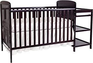 Suite Bebe Ramsey 3 in 1 Convertible Crib & Changer, Espresso