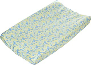 Trend Lab Dr. Seuss Changing Pad Cover, Blue Oh, The Places You'll Go!