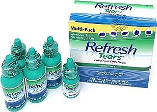 Refresh Tears Lubricant Eye Drops - 0.5 fl oz, Pack of 4