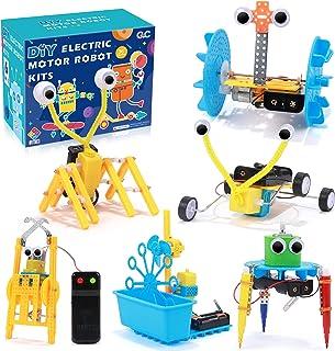 vamei Juguete Robots Stem Niños 6 in 1 Construcción Robotica de Ciencia Robotica Educativa Stem Robotic Kits para Niños 6 ...