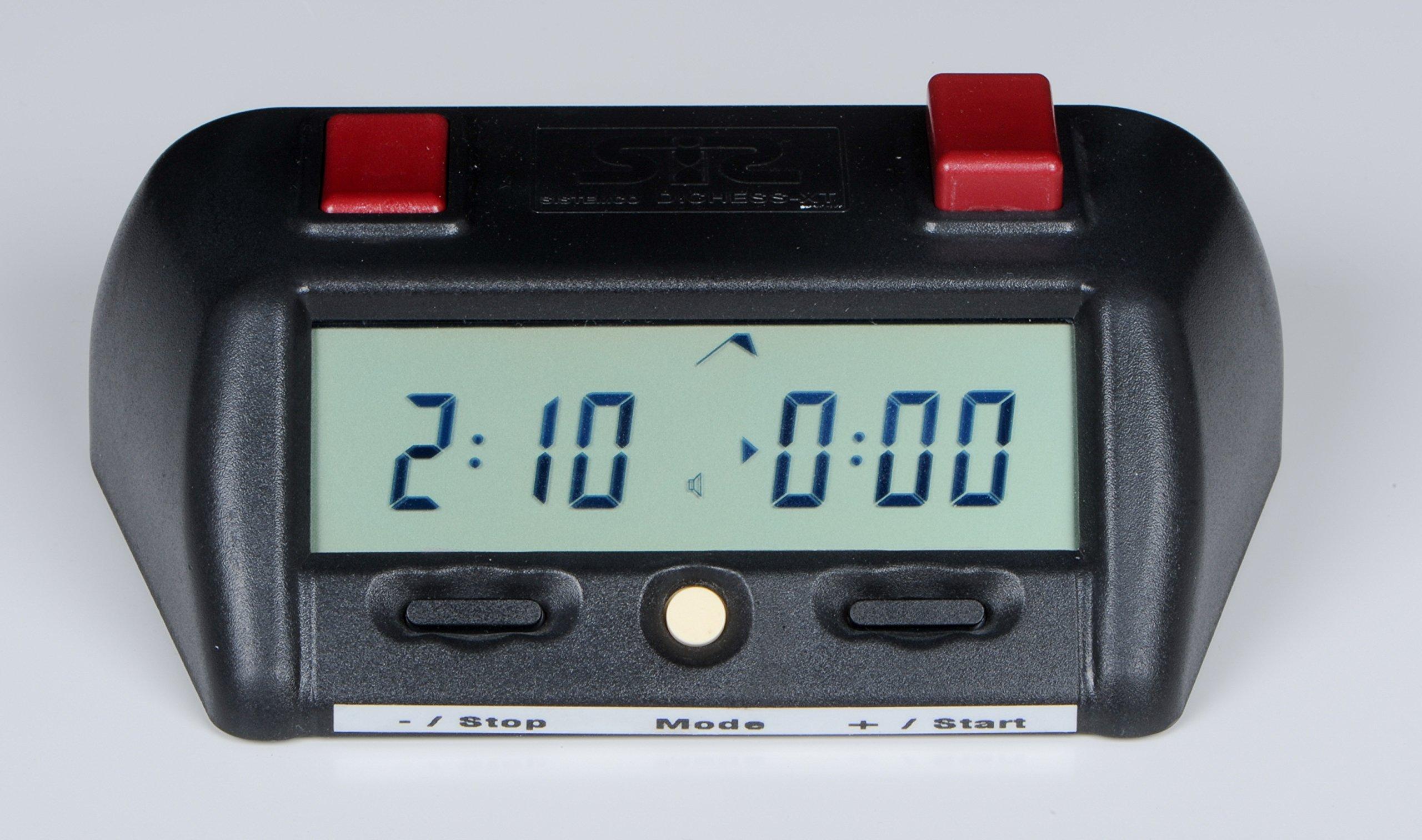 DICHESS XT Reloj digital de Ajedrez, homologado para torneos ...