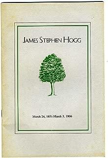 James Stephen Hogg Varner Hogg State Park Dedication 1958 West Columbia Texas