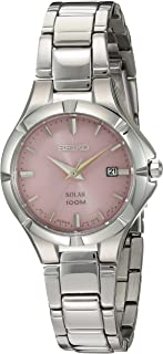 Women's Japanese Quartz Stainless Steel Watch, Color:Silver-Toned (Model: SUT315)