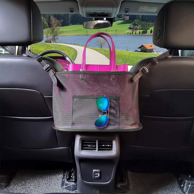 Levn Shipping included Large Capacity Car Backset Pocket High quality new Net Organizer Handbag
