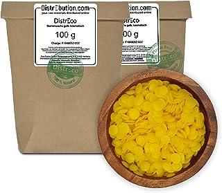 200 g Bienenwachs Pastillen in hochwertiger Qualität & ökologisch nachhaltig verpackt. - Für die Herstellung von Kosmetik, Salben, Wachstüchern, Kerzen, Lipgloss & Möbelpflege