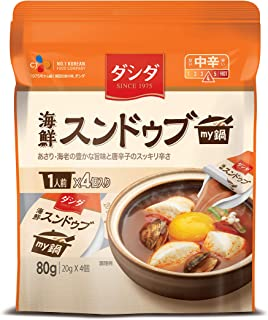 CJジャパン ダシダmy鍋スンドゥブ 80g ×6個