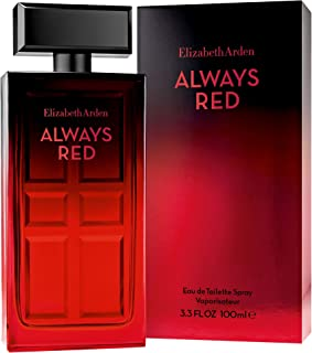 Elizabeth Arden Always Red 100ml Eau De Toilette, 0.5 Kilograms