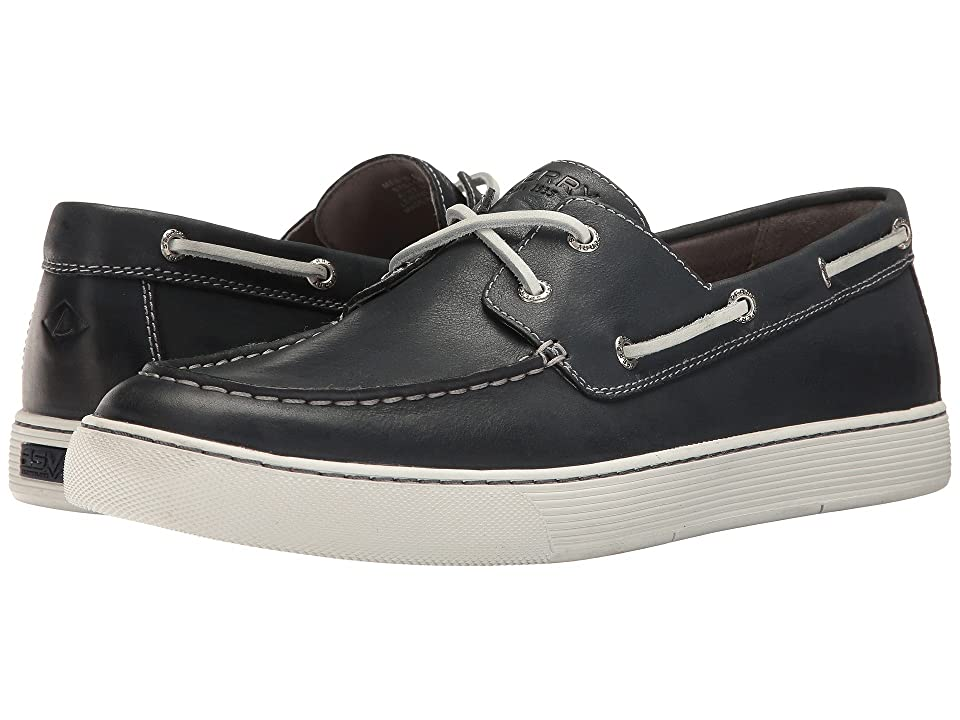 Sperry Gold Sport Casual 2-Eye w/ ASV (Navy) Men