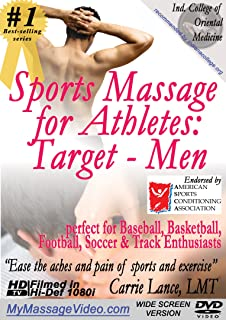 Sports Massage for Athletes: Target - Menperfect for Baseball, Basketball, Football, Soccer & Track Enthusiasts