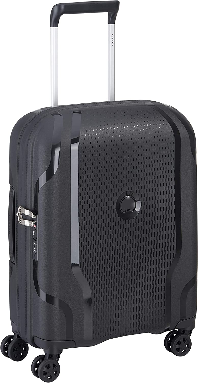 Delsey Adults Unisex's 67% OFF of fixed Cheap mail order shopping price Suitcase Black centimeters 57