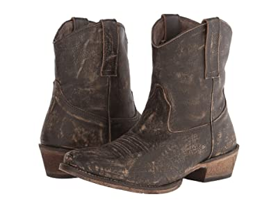 Roper Dusty (Brown) Cowboy Boots