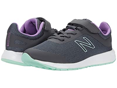 New Balance Kids 455v2 (Little Kid/Big Kid) (Magnet/Neo Violet 1) Girls Shoes