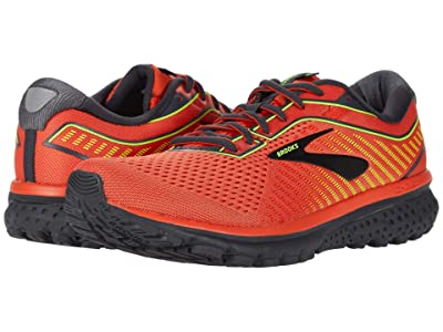 Brooks Ghost 12 (Red/Ebony/Nightlife) Men