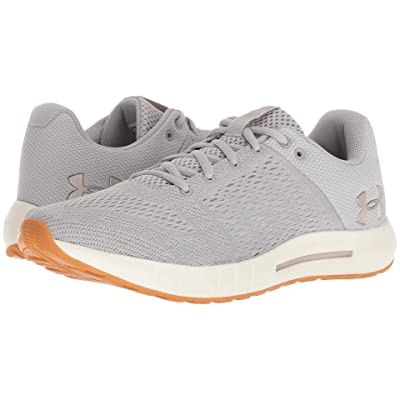 Under Armour UA Micro G Pursuit (Ghost Gray/Ivory/Metallic Faded Gold) Women