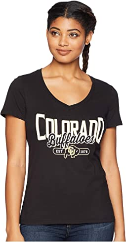 Colorado Buffaloes University V-Neck Tee