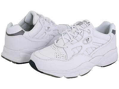 Propet Stability Walker Medicare/HCPCS Code = A5500 Diabetic Shoe (White Leather) Men