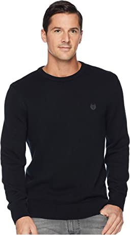Cotton-Crew Neck Sweater