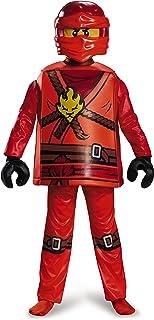LEGO Ninjago Kai Deluxe–Disfraz, Disfraz, pequeño, Edad 4–6años, Altura 4'0