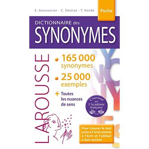 Dictionnaire des synonymes: Amazon.fr