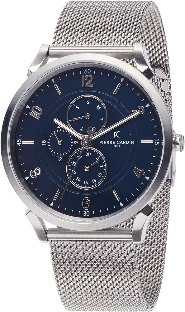 Pierre cardin ,orologio per uomo,in acciaio inossidabile CPI.2028