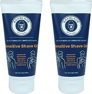 baKblade Sensitive Shave Gel 2 Pack