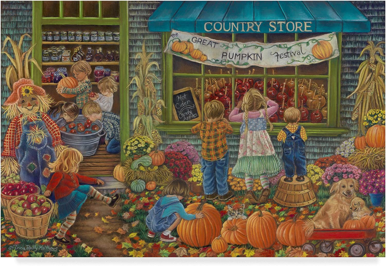 Pumpkin Time by Tricia ReillyMatthews, 12x19Inch