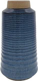 Stone & Beam Modern Stoneware Vase, 13.78