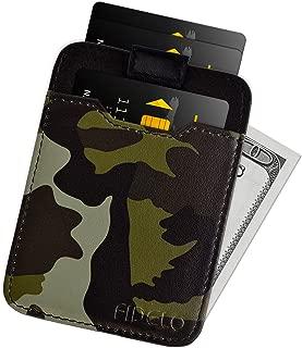 Minimalist Wallet Credit Card Holder – FIDELO Mens Slim Wallet - RFID Blocking + Full Grain Genuine Leather