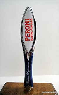 Peroni Brewery Italy Premium Lager Nastro Azzurro Keg Tap Knob Handle